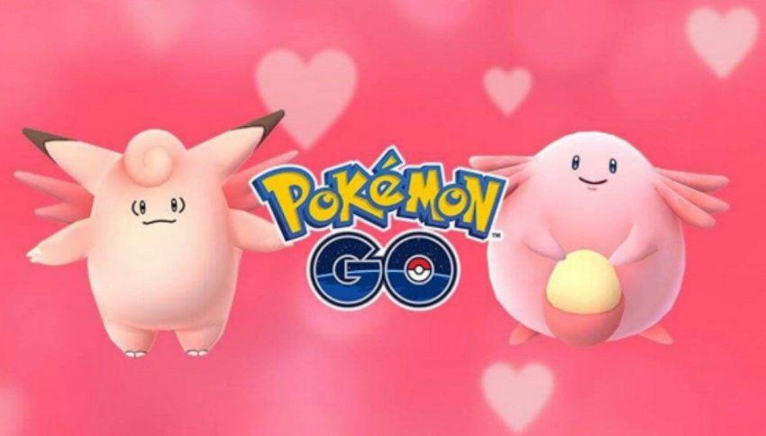 Pokémon GO diventa 'rosa': l'evento di San Valentino