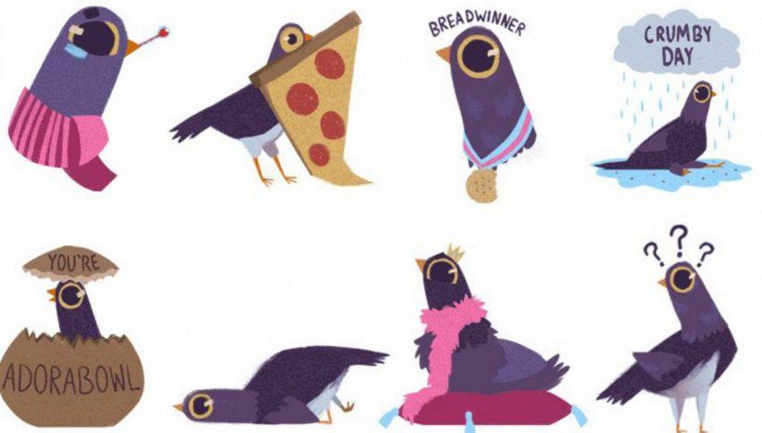 Trash Doves: da dove arriva il piccione viola che spopola su Fb