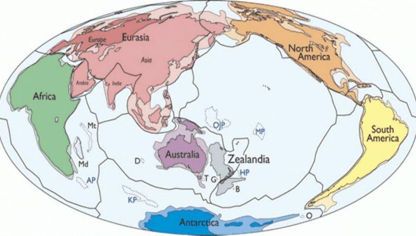 Zealandia: scoperto il settimo continente