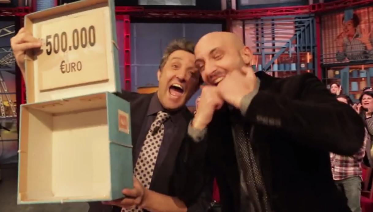 Affari Tuoi: Alessandro, disoccupato, vince 500 mila euro