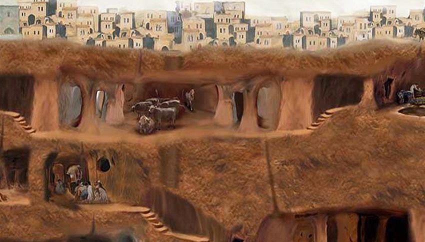 Abbatte un muro in casa e scopre una città di 3.500 anni fa