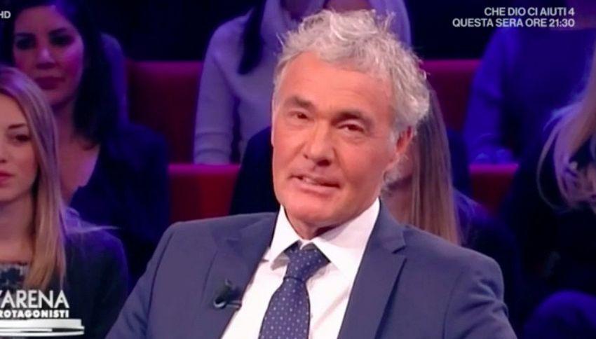 """Giletti su Conti: """"Guadagna troppo? Vi dico quanto prendo io"""""""