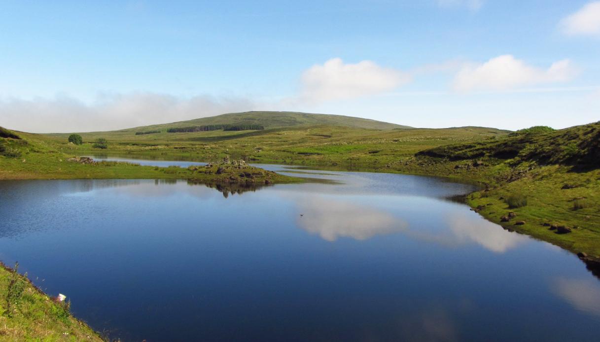 Il lago degli spettri che appare e scompare