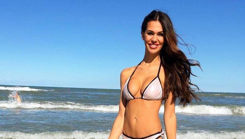 Chi è Erjona Dzemaili, ex Miss e moglie più bella della Serie A