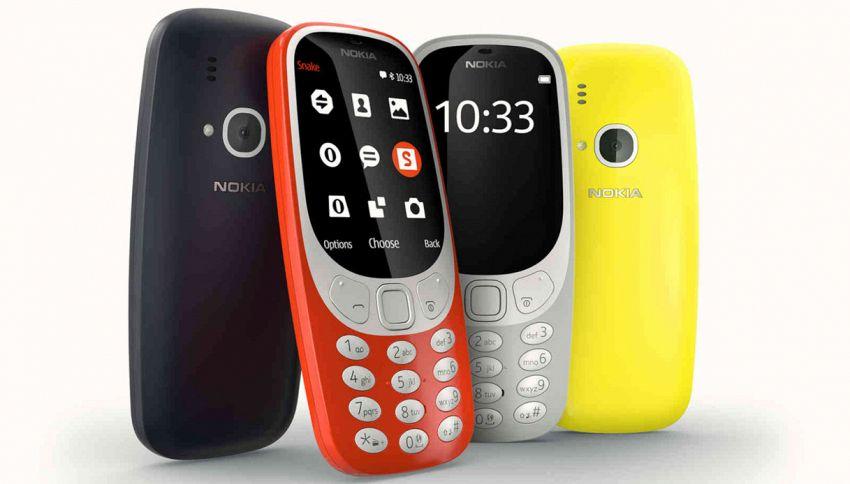 Il ritorno di un mito dei telefonini: ecco il nuovo Nokia 3310