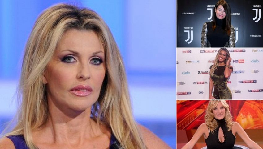 Paola Ferrari si scaglia contro la Rai per la Leotta e D'Amico