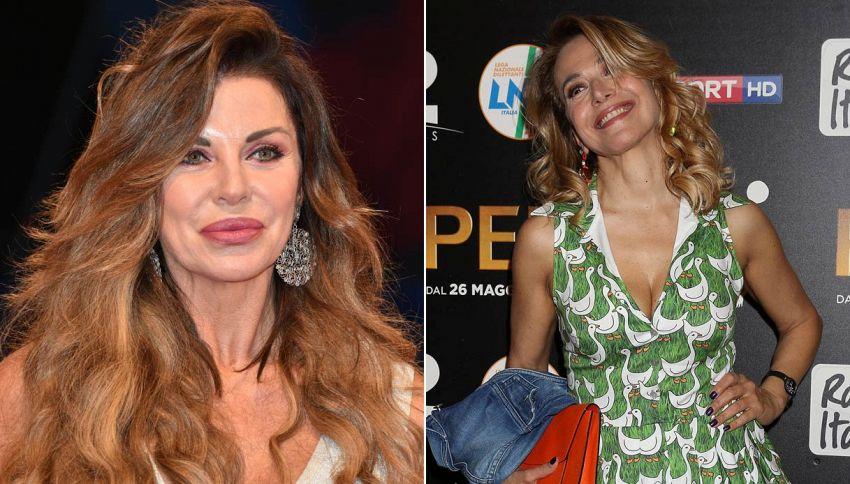 """Alba Parietti accusa la d'Urso: """"La sua tv mi fa paura"""""""