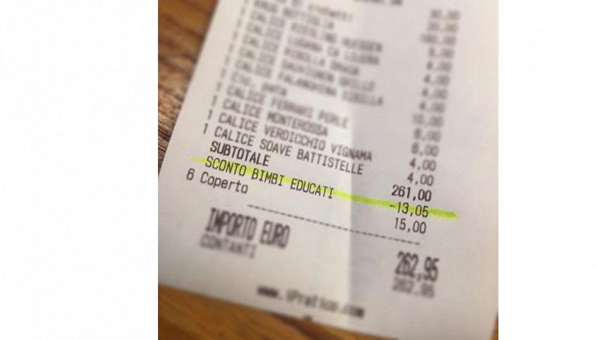 Facebook diviso sul ristorante che premia i bambini educati