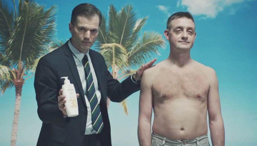Aiuta un danese al sole: la campagna choc contro il cancro