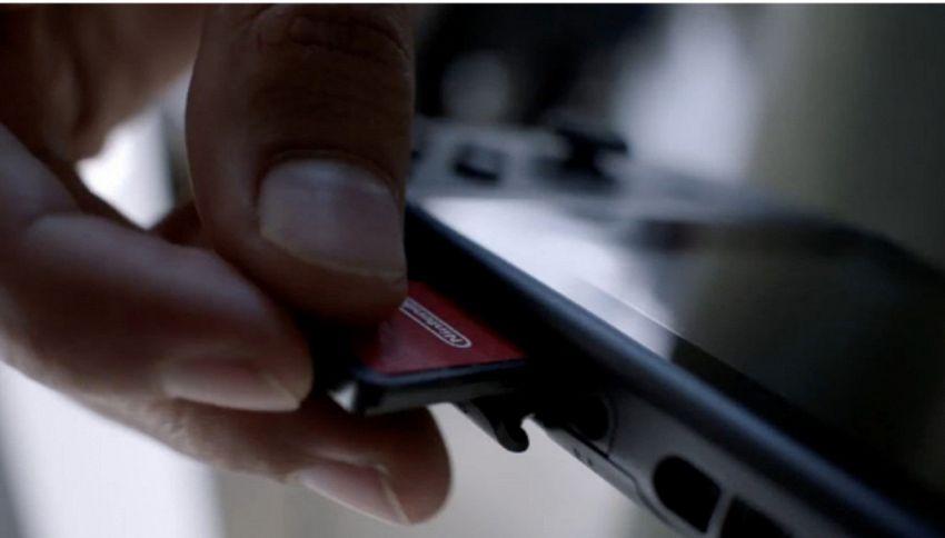 Nuovi pericolosi selfie: leccare una cartuccia di Nintendo Switch