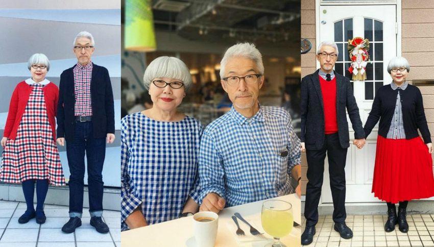 Outfit coordinati: il segreto della coppia insieme da 37 anni
