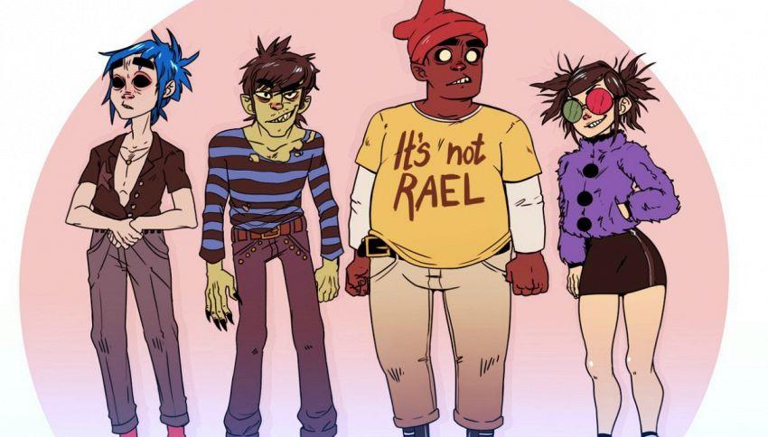 Noel Gallagher canta con i Gorillaz: ecco la nuova canzone