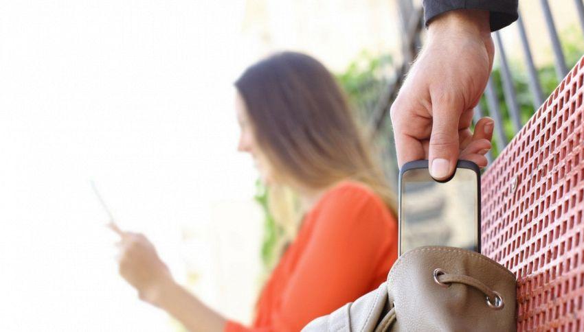 Ecco gli smartphone preferiti dai ladri