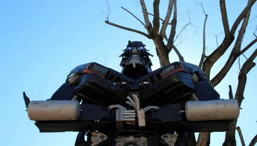 I Transformers arrivano al Museo della Scienza a Milano