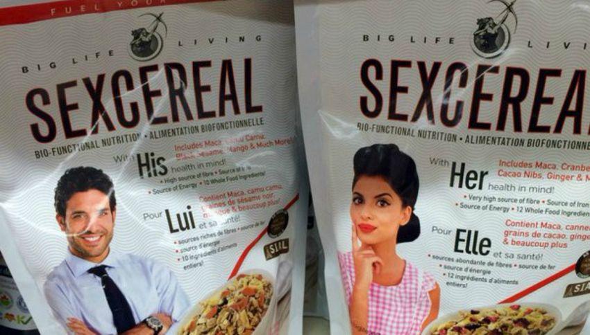 SexCereal: ecco la prima colazione afrodisiaca