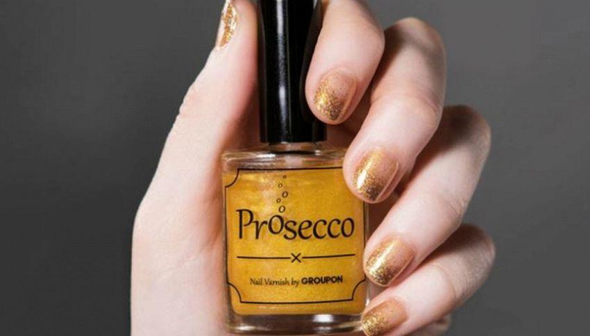 Smalto al Prosecco, il sapore del vino sempre in punta di dita