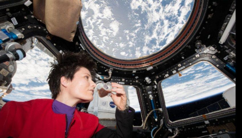 SpaceCup, così gli astronauti potranno finalmente bere il caffè