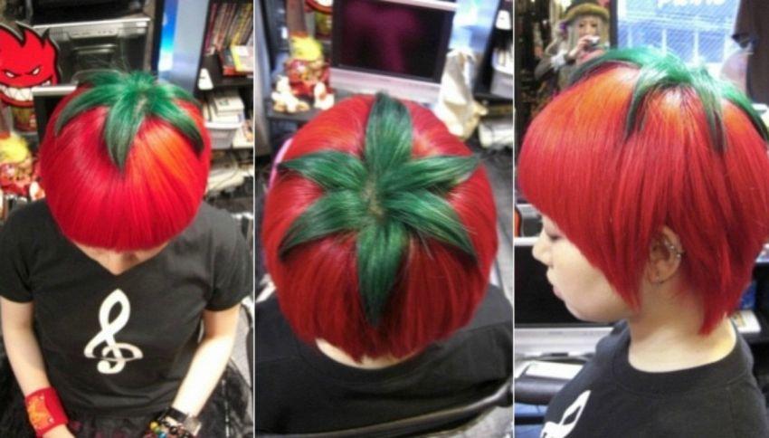 In Giappone arriva il taglio di capelli a pomodoro