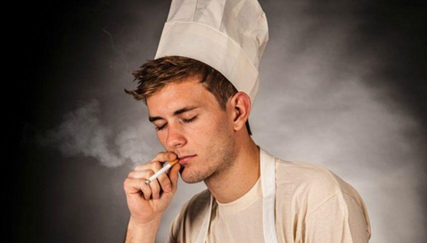 Perchè il fumo sale dritto e poi si disperde