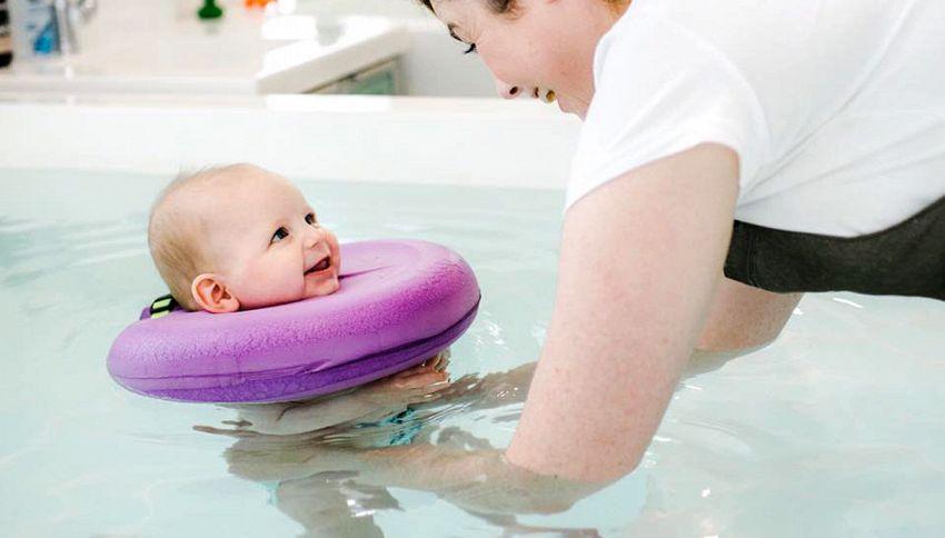 Dolcissimi neonati alla Spa: le foto diventano virali