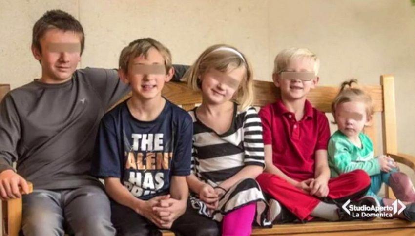 I cinque fratelli del Kansas che cercano una famiglia insieme