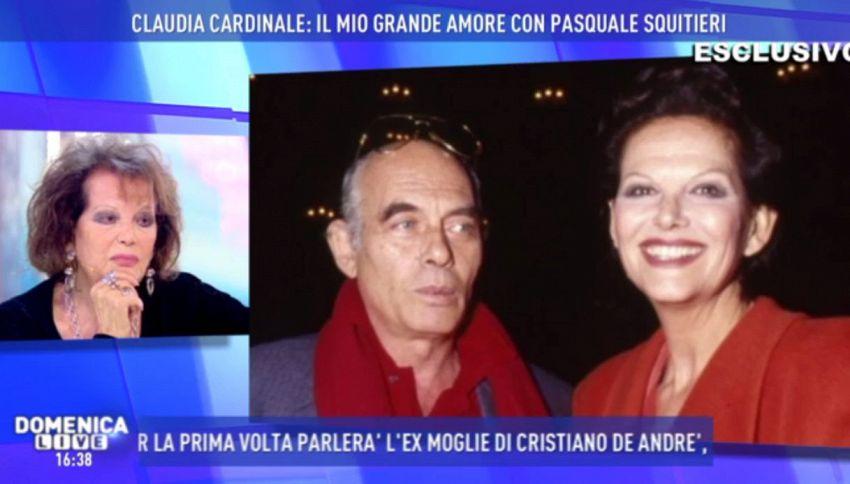 Claudia Cardinale: rivelazione su Squitieri a Domenica Live