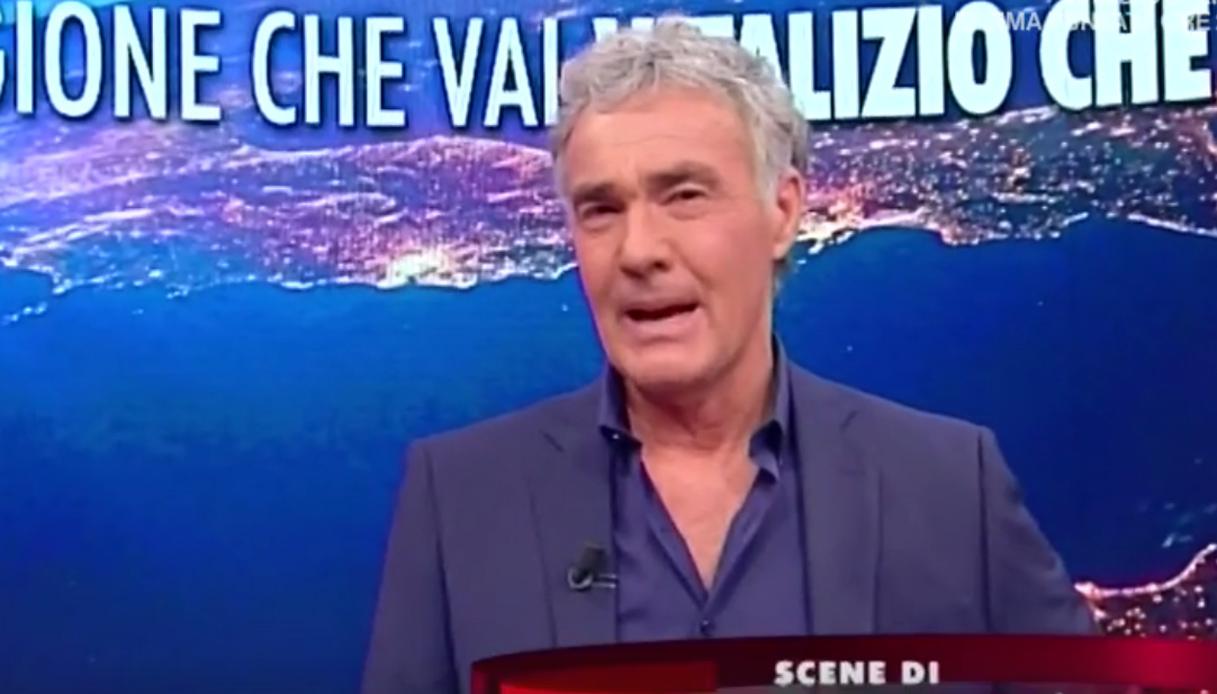 Giletti e le minacce di morte: la rabbia in diretta tv