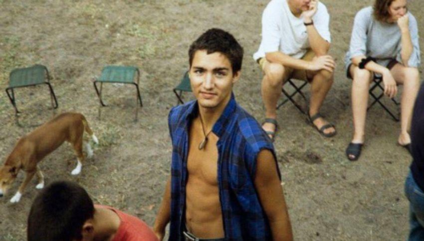 Queste foto di Justin Trudeau stanno facendo impazzire tutti
