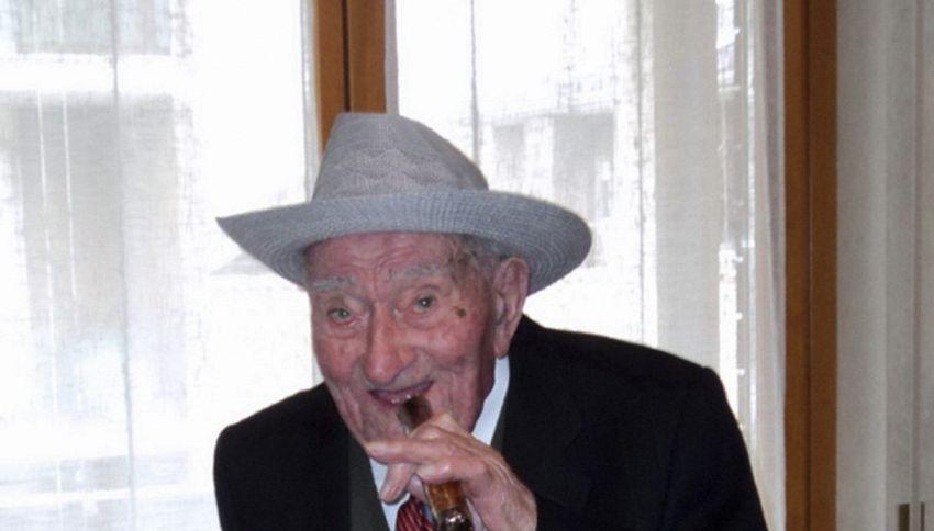Ha 109 anni l'uomo più anziano del Piemonte