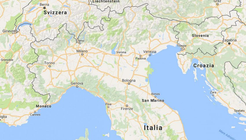 Cambiano i confini dell'Italia: ecco dove