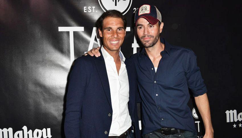 Enrique Iglesias e Rafa Nadal aprono un ristorante a Miami
