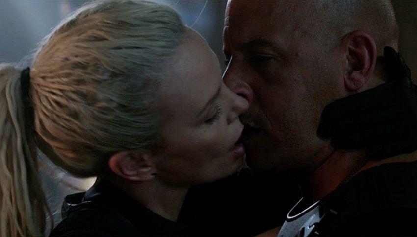 """Charlize Theron: """"Il bacio con Vin Diesel non è stato bello"""""""
