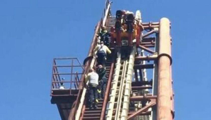 Black-out a Gardaland, famiglia bloccata a 20 metri d'altezza