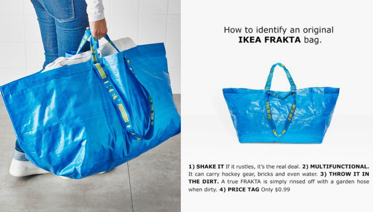 La risposta di Ikea alla borsa di Balenciaga
