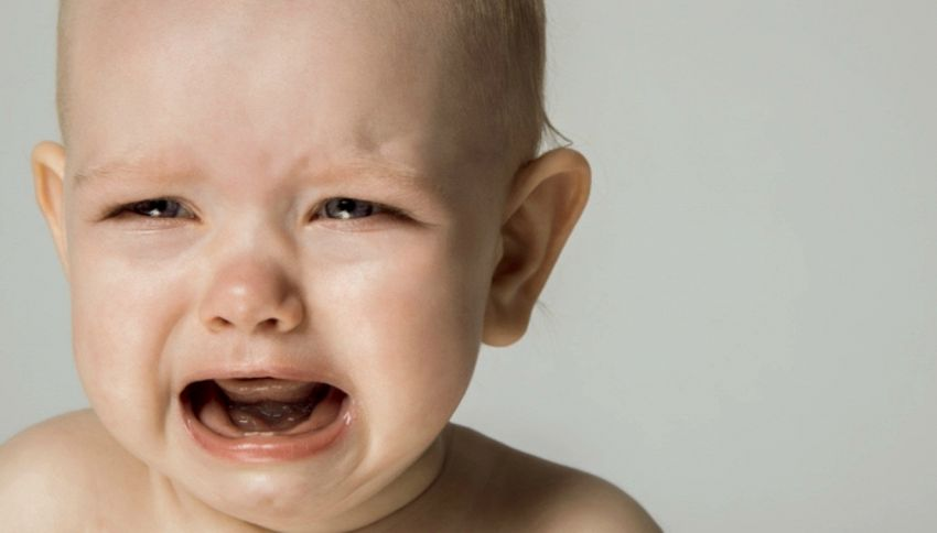 """I bambini italiani sono tra i più """"piagnoni"""" al mondo"""