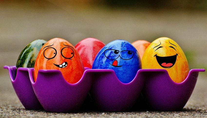 Come colorare le uova di Pasqua
