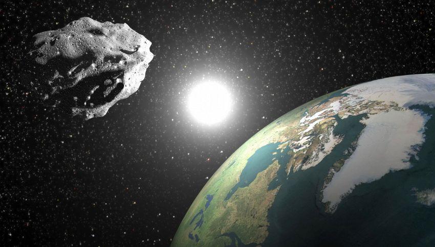 Asteroide sfiora la Terra nel passaggio più ravvicinato di sempre