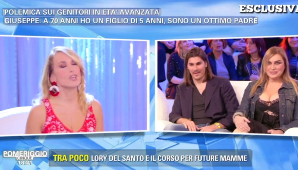 Lory Del Santo pronta a diventare mamma a 58 anni