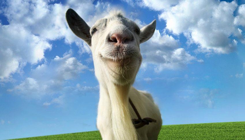 Goat Simulator, ovvero: la rivincita delle capre