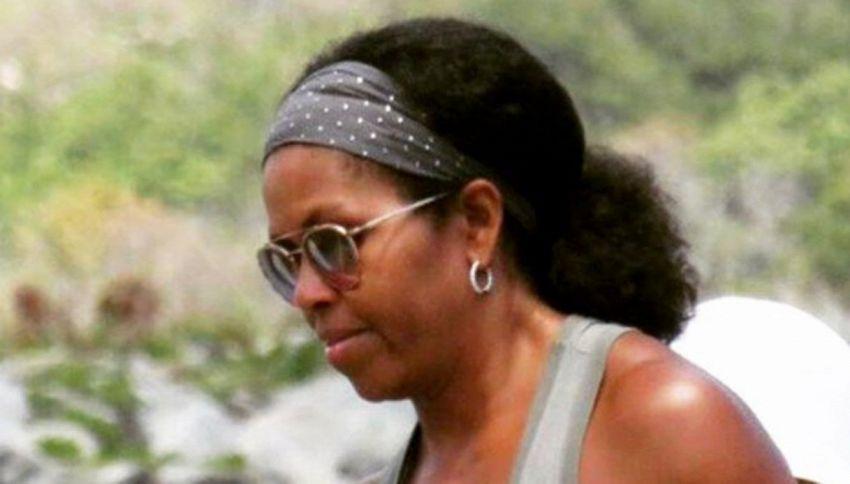 Michelle Obama al naturale: lo scatto fa impazzire la Rete