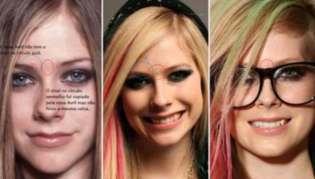 Avril Lavigne è morta ed è stata sostituita da una sosia?
