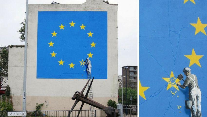 Il nuovo murales di Banksy a Dover