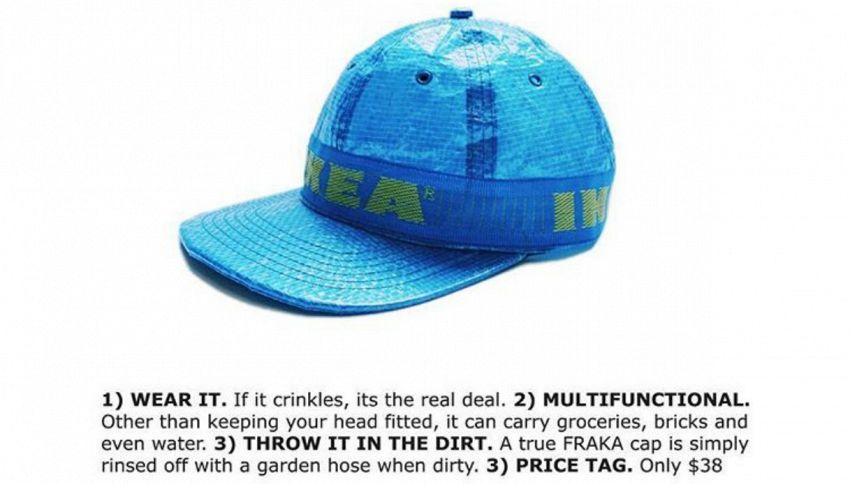 Dopo la borsa, ecco il cappello di Ikea