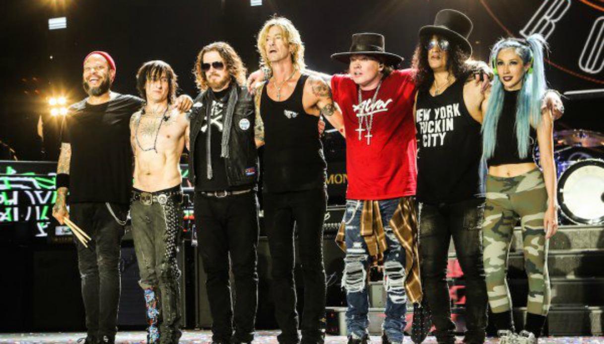 Guns N' Roses e Who in tour insieme: l'annuncio