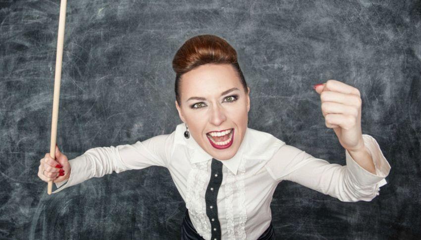 I 10 peggiori insegnanti di sempre