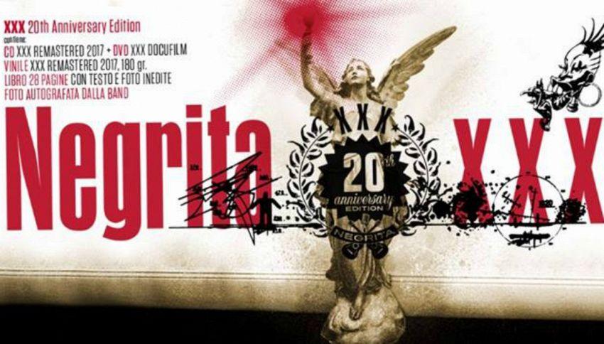 """Negrita: l'album """"XXX"""" compie vent'anni"""