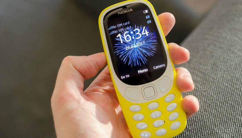 Finalmente si può comprare il Nokia 3310 anche in Italia