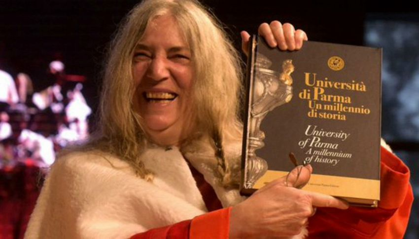 Patti Smith: laurea ad honorem in Italia