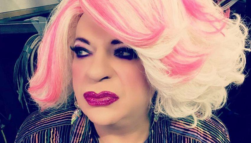 Platinette a Selfie - Le cose cambiano con Simona Ventura