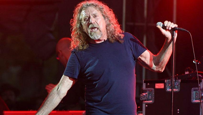 Il messaggio misterioso di Robert Plant sul suo sito ufficiale